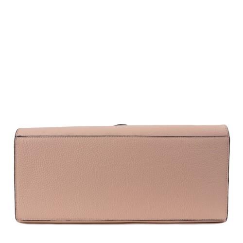 Geanta dama piele naturala roz GF1416