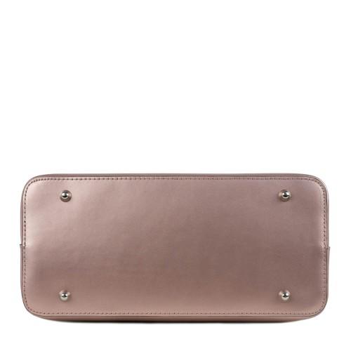 Geanta dama piele roz sidefat GF1496