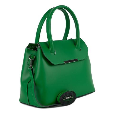 Geanta dama piele verde GF1500