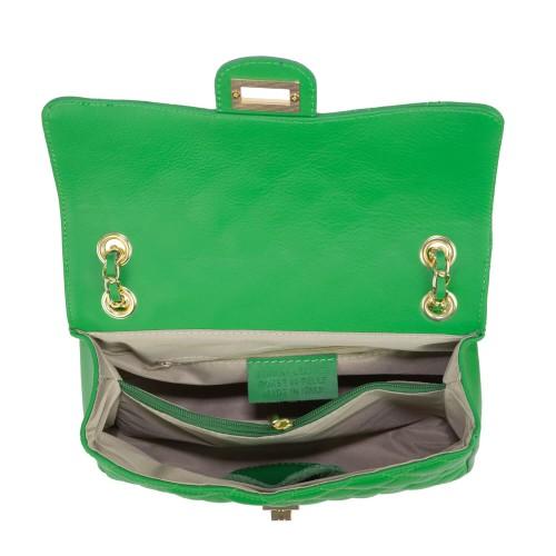 Gentuta dama piele verde GF1503