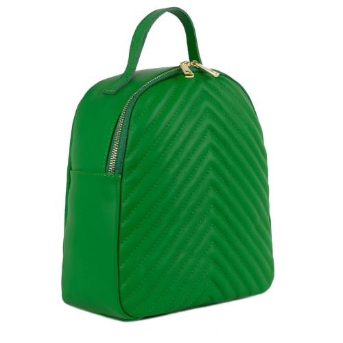 Rucsac dama piele verde GF1505