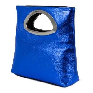 Gentuta piele albastra tip plic GF1507
