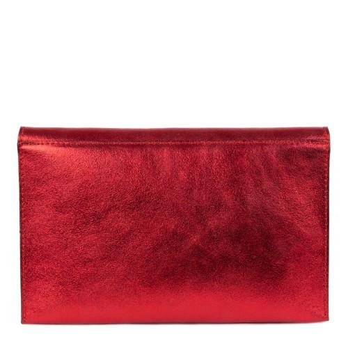 Plic tip gentuta piele rosie GF1512