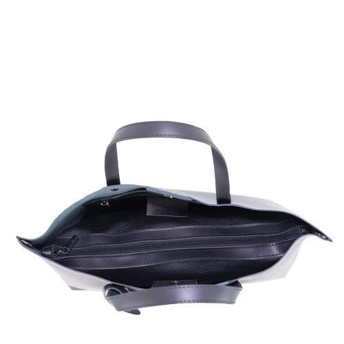 Geanta piele neagra GF1517