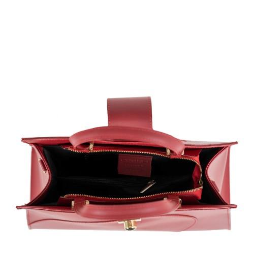 Geanta dama piele rosie GF1540