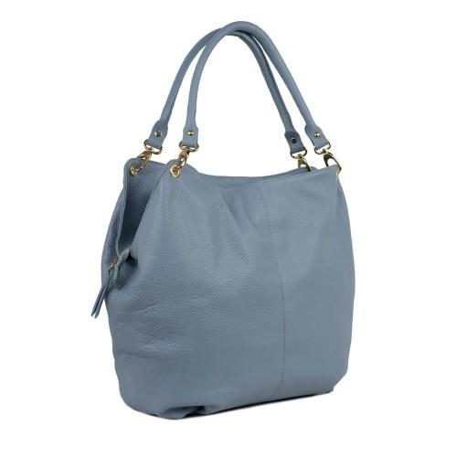 Geanta dama piele bleu GF1543
