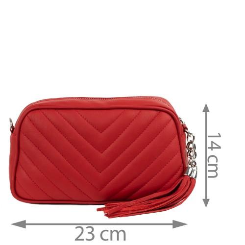 Gentuta dama piele rosie GF1558