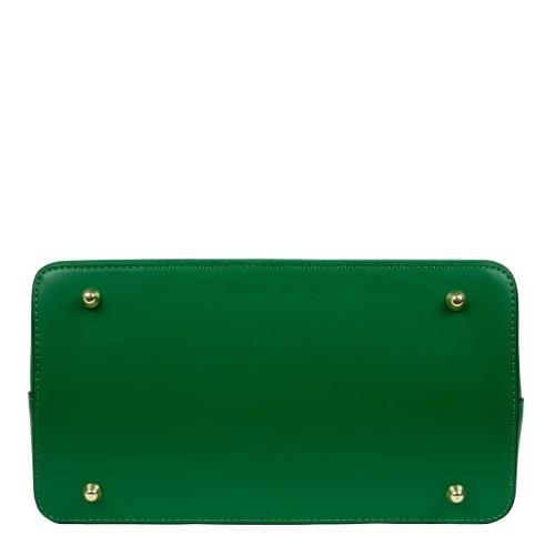 Geanta piele verde GF1574
