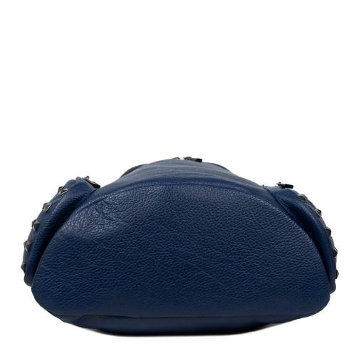 Rucsac piele albastru GF1578