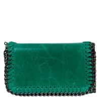 Plic piele verde turcoaz tip gentuta GF1581
