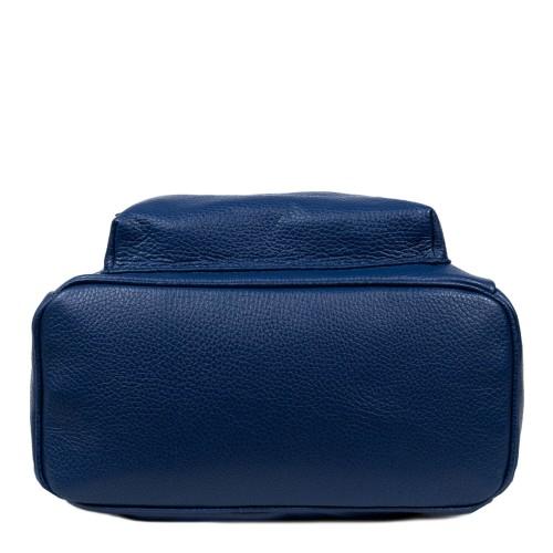 Rucsac piele albastru inchis GF1601