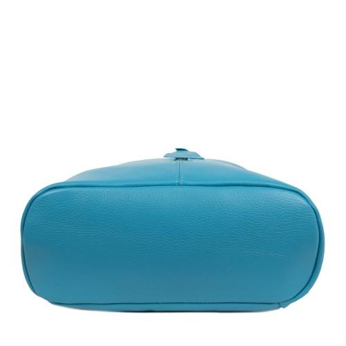 Rucsac dama piele naturala bleu GF1900
