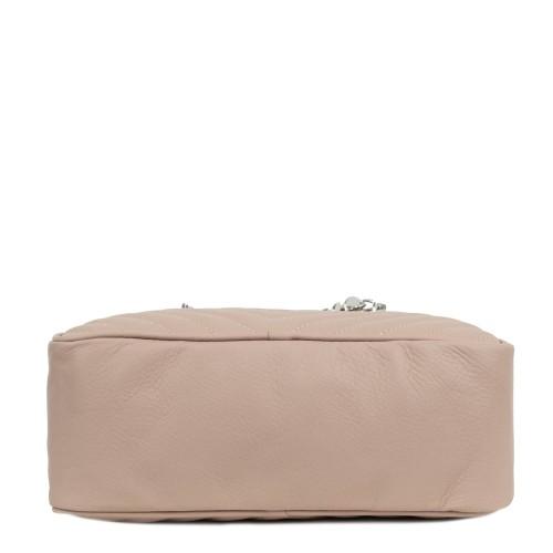 Gentuta matlasata piele roz prafuit GF1908
