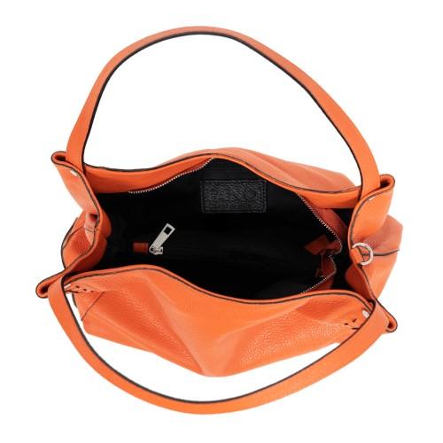 Geanta dama piele oranj GF1914