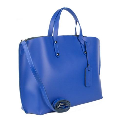 Geanta piele albastra GF900 Genti Dama