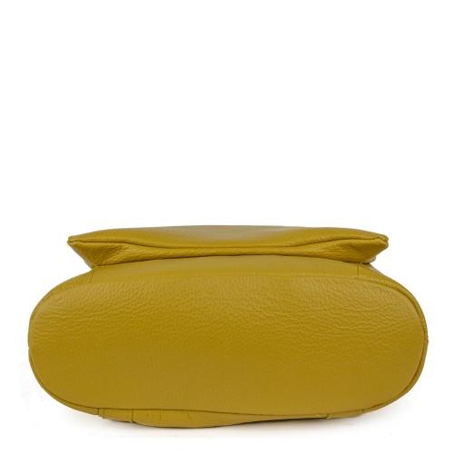Rucsac piele galben GF911 Rucsacuri Dama