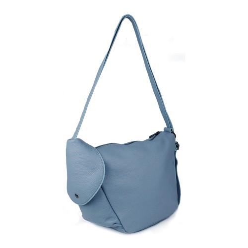 Gentuta piele bleu tip rucsac GF924