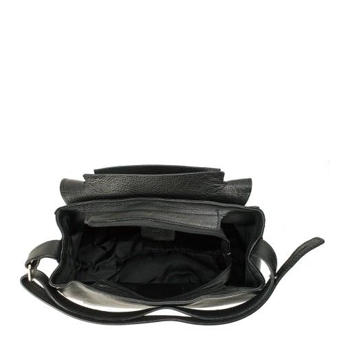 Geanta piele neagra GF930