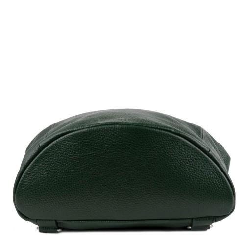 Rucsac piele verde inchis GF989