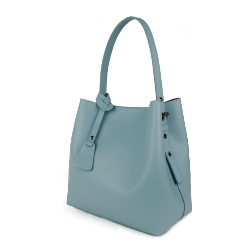 Geanta dama piele bleu GF990