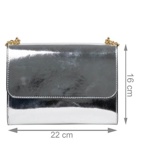 Gentuta piele silver sidefat GF2492