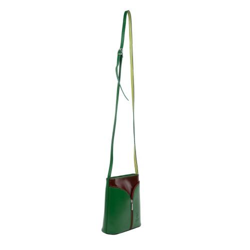 Gentuta piele verde/maro GF2540
