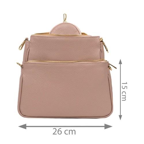 Gentuta piele roz prafuit GF2559