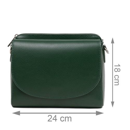 Gentuta piele verde inchis GF2802