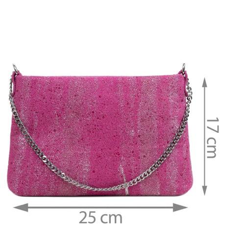 Gentuta piele tip plic roz GF2925