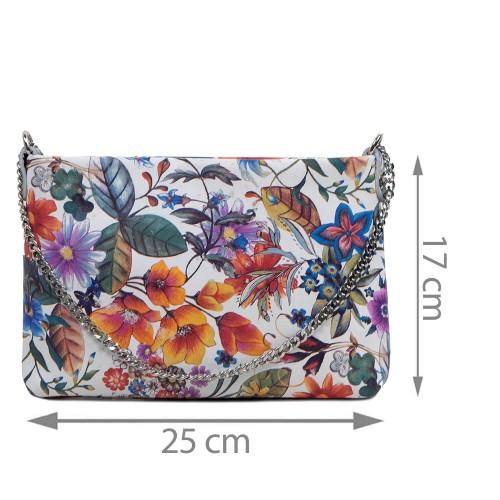 Gentuta piele tip plic imprimeu floral GF2935