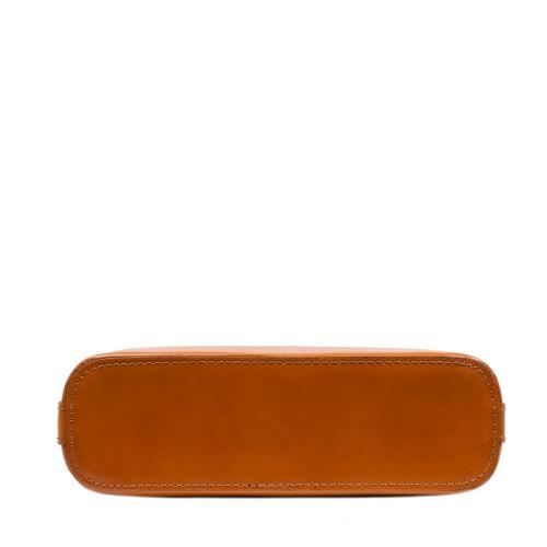 Gentuta dama piele maro ciocolatiu GF3063