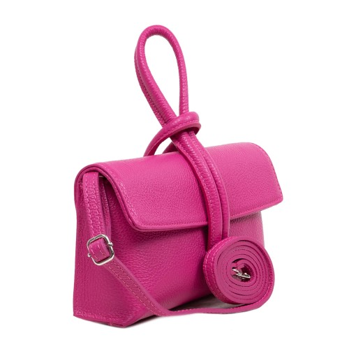 Gentuta piele roz inchis GF3067