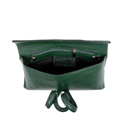 Gentuta piele verde inchis GF3070