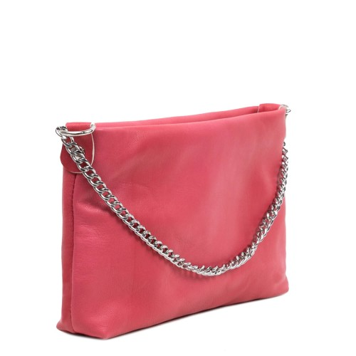 Gentuta piele tip plic roz GF3080