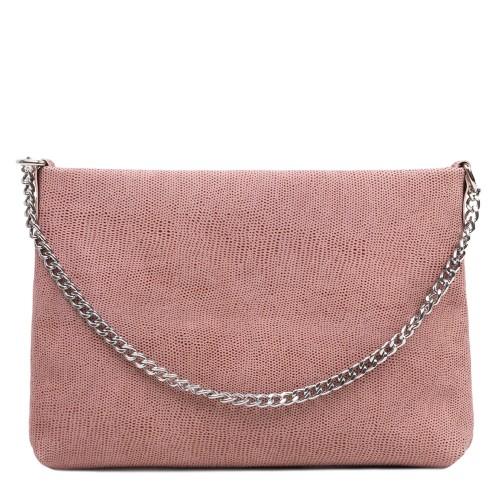 Gentuta piele tip plic roz pal GF3086