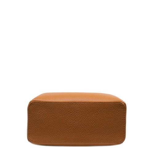 Gentuta piele maro ocru GF3105