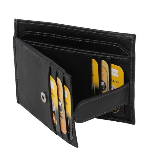 Port-card piele neagra PT058