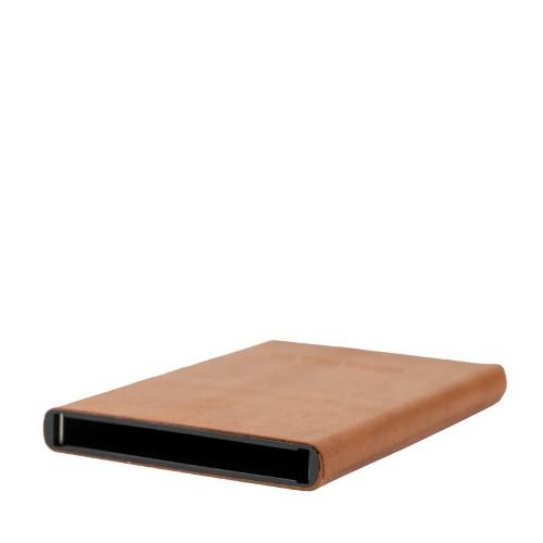 Port-card piele maro PT070