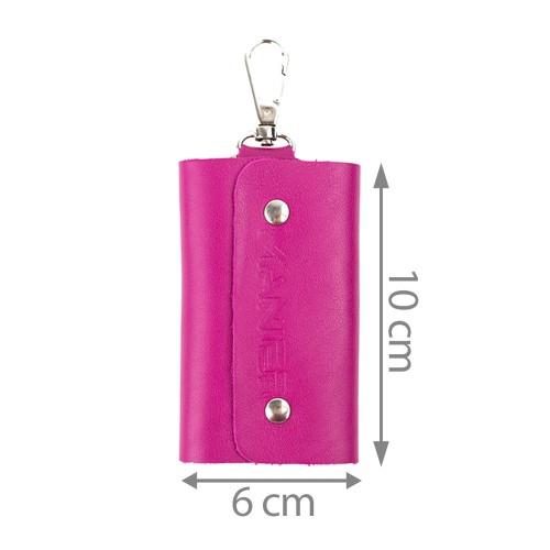 Port-chei piele roz inchis PC022