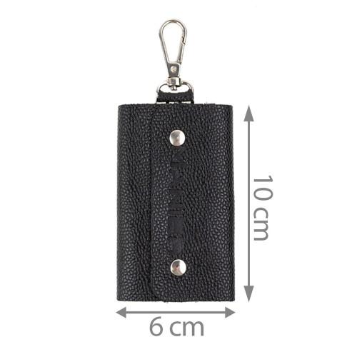 Port-chei piele negru/caviar PC036