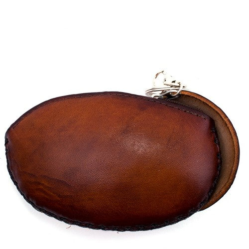 Port-monede piele naturala Albinuta-PM004