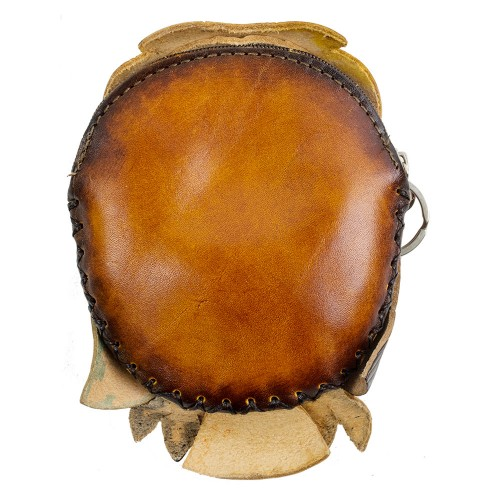 Port-monede piele naturala Buha PM024