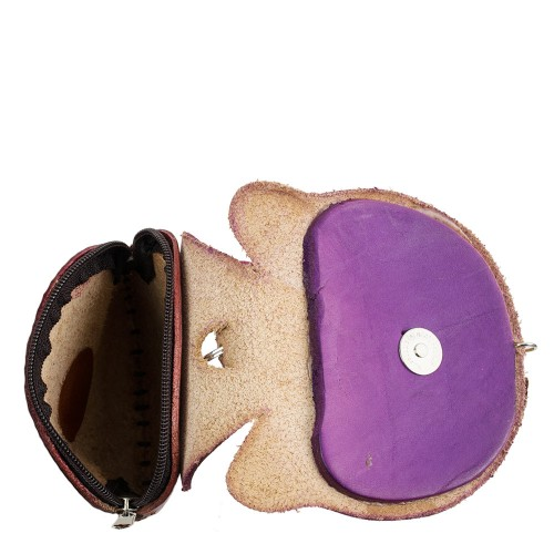 Port-monede piele naturala Pisica-PM026 Port-monede