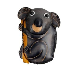 Port-monede piele Koala gri PM043
