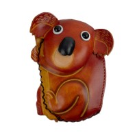Port-monede piele Koala maro PM044