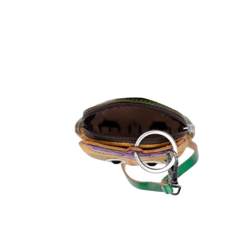 Port-monede piele Buha multicolor PM048