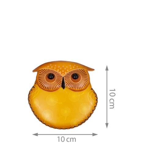 Port-monede piele Buha multicolora PM050