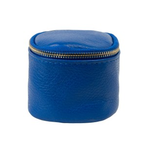 Port-monede piele albastra PM071