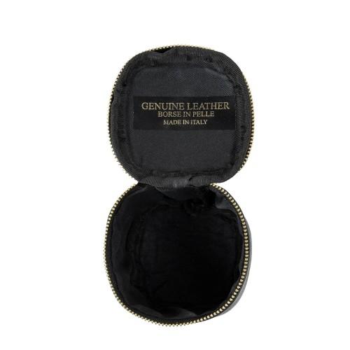 Port-monede piele neagra PM072