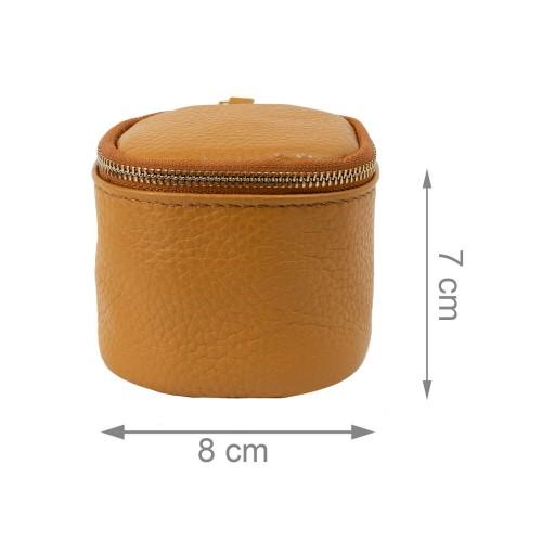 Port-monede piele maro PM076